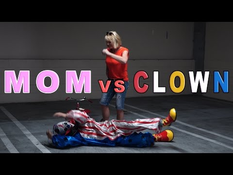 MOM VS. KILLER CLOWN!