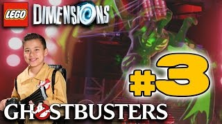 Lego Dimensions GHOSTBUSTERS Story!!! PART 3 Ghostbustin
