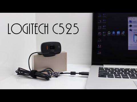 Logitech HD Webcam C525 Unboxing