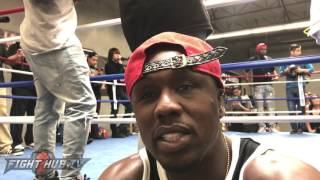 """ANDRE BERTO """"FLOYD JUST FOUGHT THE BEST SOUTHPAW IN LAST 15 YEARS! HE STILL COULDN"""