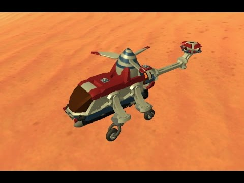 TerraTech - Tiny Helicopter, Construction and Demonstration
