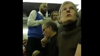 Woman kicked off flight after berating Trump supporter