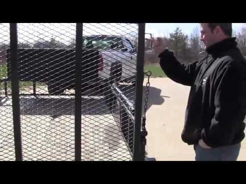 EZ-Gate Trailer Tailgate Lift Assist