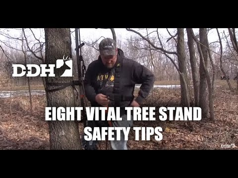 Eight Vital Safety Tips for Setting Up and Climbing Tree Stands