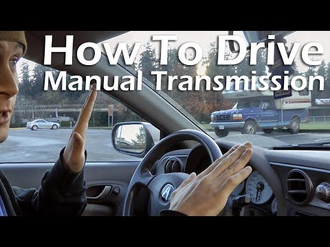 How To Drive A Manual Transmission Car (2002 Acura RSX).