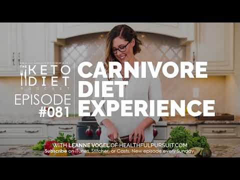 #081 The Keto Diet Podcast: Carnivore Diet Experience