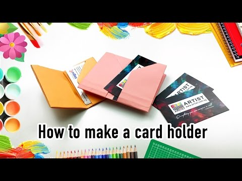 How to make a card holder | Origami Tutorial