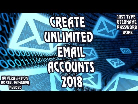How To Create An Email Account Without Mobile Number | Create Unlimited Email Accounts 2018
