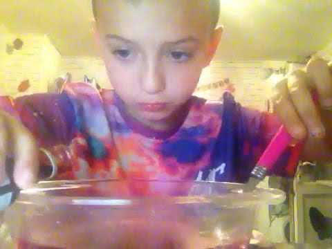 How to make a hurricane in a bowl