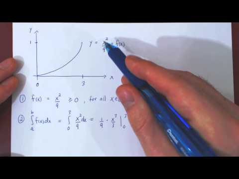 Continuous Random Variables: Example - Part 1