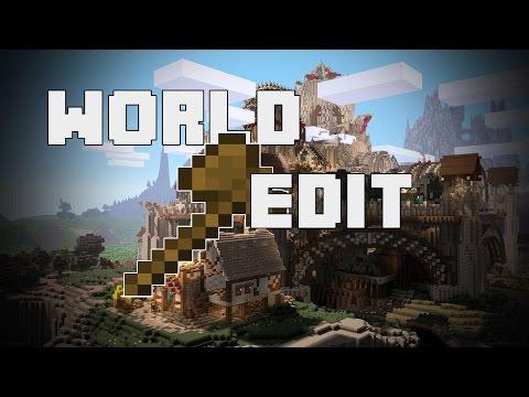 WORLD EDIT | Minecraft Tutorial | Basics | German