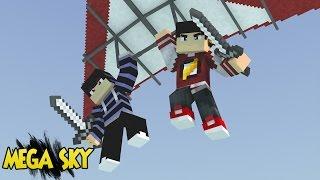 Minecraft: MEGA SKY WARS DELTA - 9 Players Buscando a VITÓRIA! ‹ AM3NIC ›