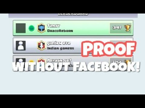 HOW TO ADD FRIENDS IN CLASH ROYALE! (WITHOUT FACEBOOK)