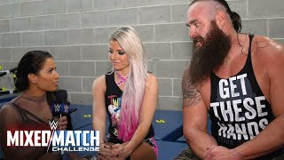 Braun Strowman & Alexa Bliss promise to go all the way in WWE MMC