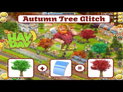 Hay Day - Autumn Tree Glitch