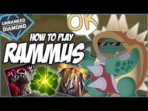 HOW TO PLAY RAMMUS! - Unranked to Diamond - Ep. 106 | League of Legends