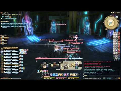 FINAL FANTASY XIV A Realm Reborn PS4 Beta phase 2 - The Binding Coil of Bahamuth Turn 4 Try