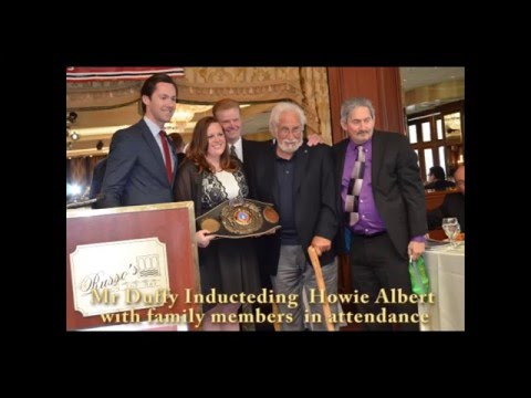 5th Annual  New York State Boxing Hall  NYSBHOF of Fame Induction dinner-2016