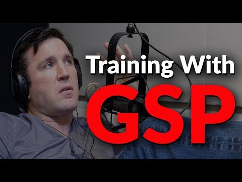 Chael Sonnen talks about the first time he trained with GSP