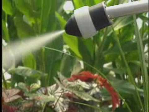 Electrostatic Spraying Demonstration