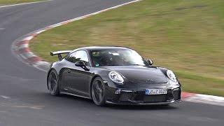 Porsche 991 GT3 MkII Still Testing on the Nordschleife!