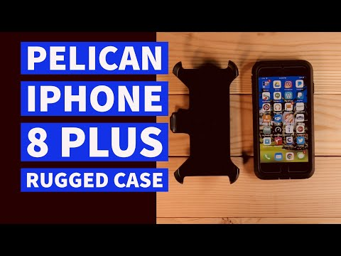 iPhone 8 Plus Rugged Case With Belt Clip Pelican Voyager