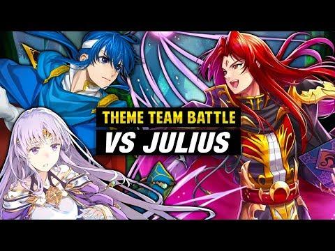 INFERNAL Julius GHB Vs. Seliph, Julia & FE4 Gen 2 Units - Fire Emblem Heroes Theme Team Battle