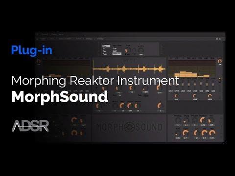 MorphSound - Morphing Reaktor Instrument