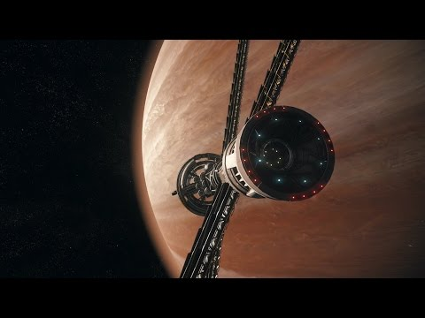 Star Citizen 2.6 Port Olisar Crusader 4k Ambience and Relaxation