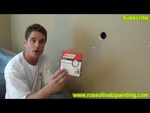 DIY Drywall Repair: How to Fix Holes and Dents in the Wall (Part 1)