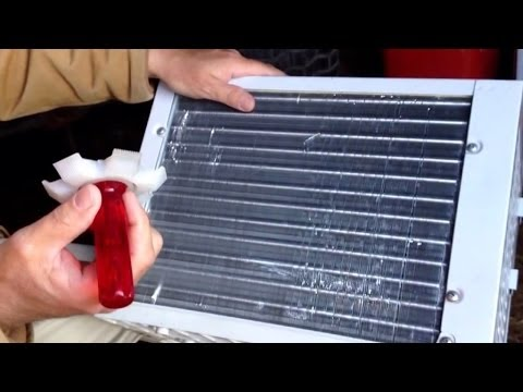Air Conditioner Fin Straightening