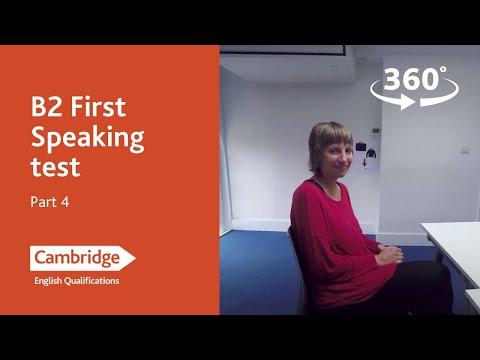 Cambridge Assessment English: B2 First, Part 4
