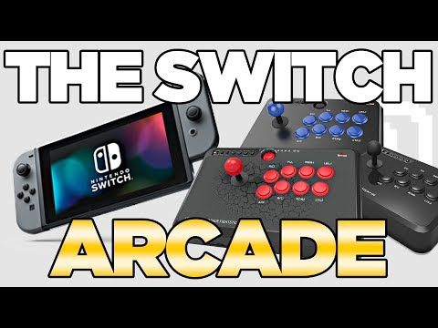 The Best Arcade Sticks for Nintendo Switch! Mayflash F500 F300 F100 Review | Austin John Plays