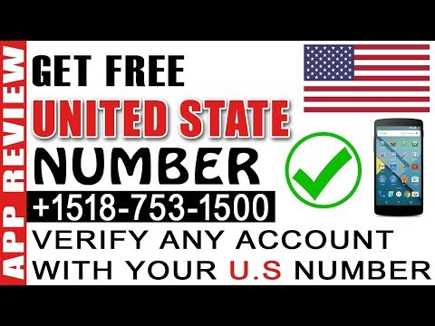 how to get usa mobile number free for all app verification