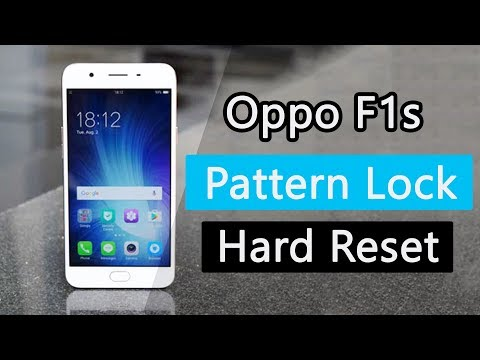 Oppo F1s (A1601)   Hard Reset and Remove the Pattern Lock   FRP   Latest Working Method