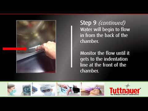 Cleaning Maintenance Weekly - Manual Tabletop Autoclaves - Tuttnauer