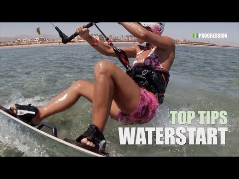 Waterstart - Kitesurfing Top Tips (UPDATED)