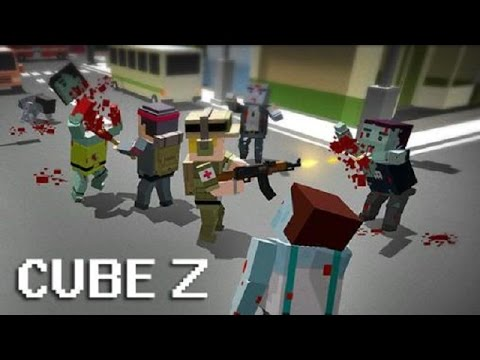 Cube Z Pixel Zombies (by Infinite Games ST) Android Gameplay [HD]