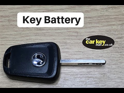Key Battery Astra Insignia Corsa Non-Folding HOW TO Change