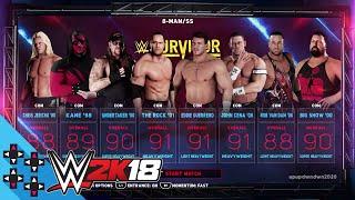 WWE 2K18: Team WWE 2001 vs. Team Guerrero 2004 - Survivor Series Dream Match Sims