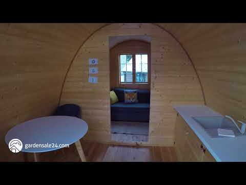 Insulated Camping/Glamping Pod With Kitchen