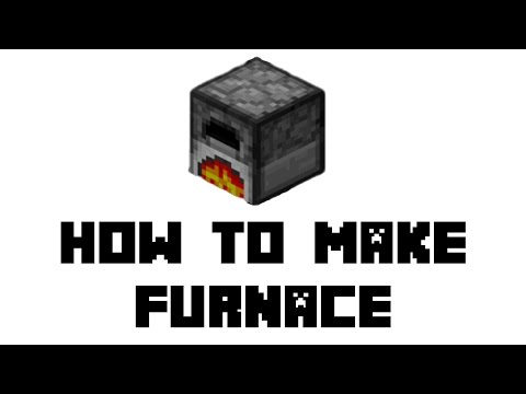 Minecraft Survival: How to Make Furnace