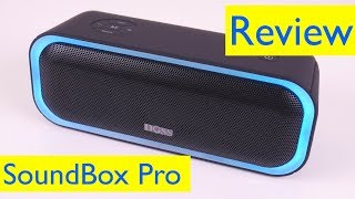 Doss Soundbox Pro Portable Bluetooth Speaker Review And Bass Test