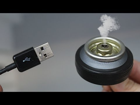 HOW TO MAKE A OIL USB DIFFUSER / TUTORIAL