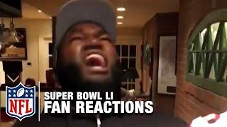 Super Bowl LI Fan Reactions Narrated by Matt Damon | NFL