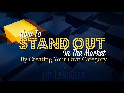 How To Stand Out In The Market By Creating Your Own Category