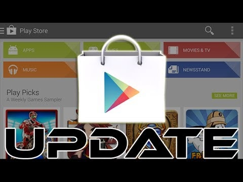 How To Update Google Play Store - In Hindi