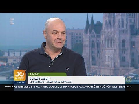Stollár Fanny szerződése a teniszszövetséggel - Juhász Gábor - ECHO TV