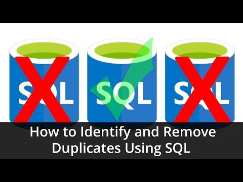 Tutorial - How to Identify and Remove Duplicates Using SQL