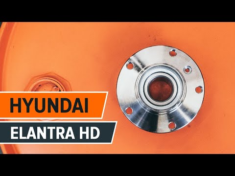 How to replace a rear wheel bearing on HYUNDAI ELANTRA HD TUTORIAL | AUTODOC